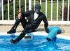 15 LS Poolside - cum join me mates! (Leviswimmerwet) Tags: wet wetlook swimmingfullyclothed wetjeans wetleather wetboots wetladz wetladzinleather swimmingpooladventure wetdocmboots