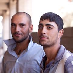 Public works in Souleymanieh (Olivier Timbaud) Tags: man worker fs irak kurdish souleymanieh oliviertimbaud