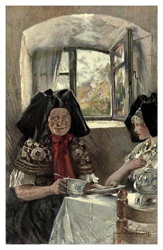 001- Adivinacion con el te-Alsace-Lorraine-1918- Edwards George Wharton