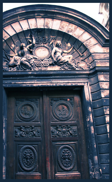Doorway in Marais