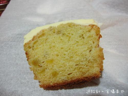 Ginjer杯子蛋糕斷面2