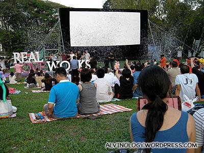 Confetti! Event launched
