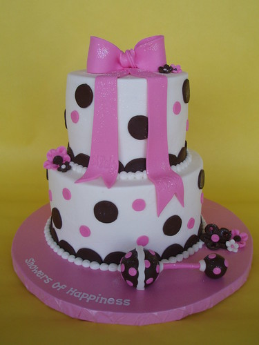 Baby Rattle Baby Shower Cake