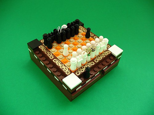 LEGO mini chess set