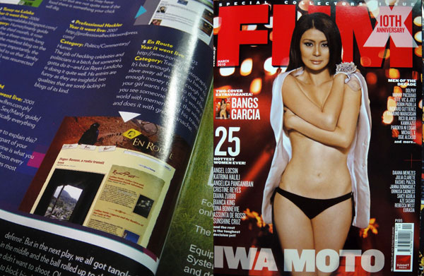 FHM March 2010 10th Anniversary Issue