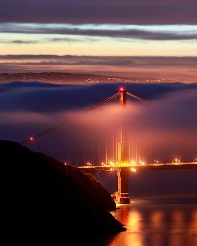 North Tower Fog at Dawn (by Wiggum03)