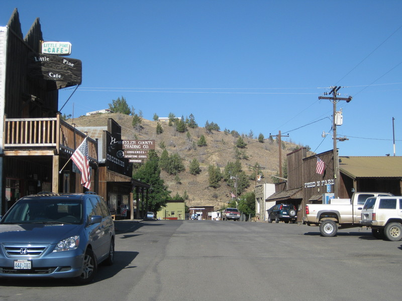 Main Street, and the only street