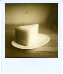 09 - cheese 2 (akki14) Tags: cheese polaroid sx70 px100 impossibleproject