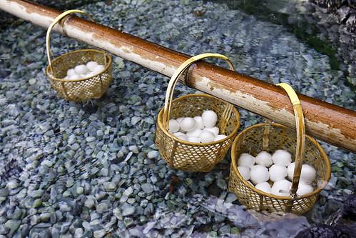 Onsen Boiling Eggs 溫泉蛋 by olvwu | 莫方.