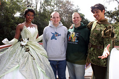 Meeting Tiana and Naveen aboard Tiana's Showboat Jubilee