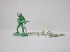 Army Man Necklace