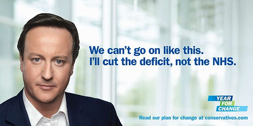 David Cameron time for change poster