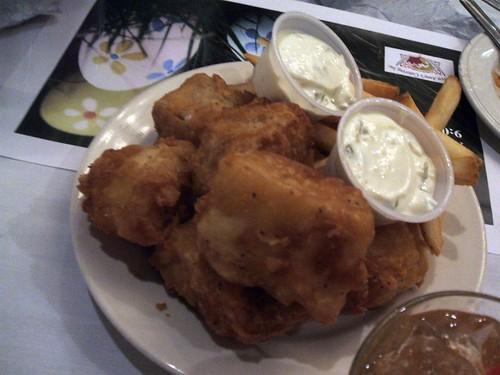 Cod fish fry