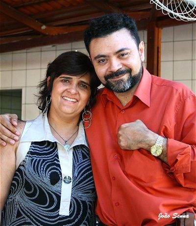 Monica Araripe e Dihelson