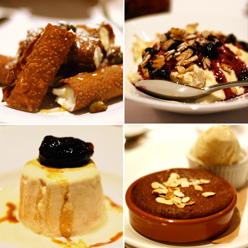 buzo desserts