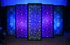 Backlit Faux Stained Glass Stage Element | Front