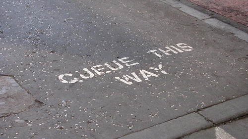 Queue this way
