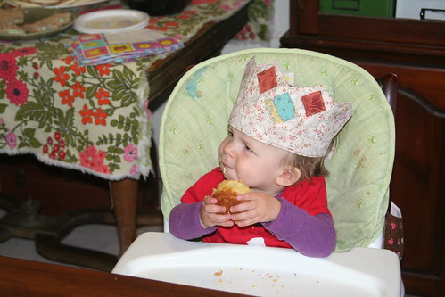 birthday cupcake!