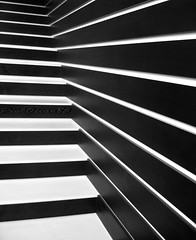 B&W Abstractish lines (Aisha Altamimy) Tags: bw white black lines line خط أبيض أسود خطوط platinumheartaward