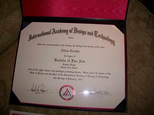 Cum Laude Diploma 111