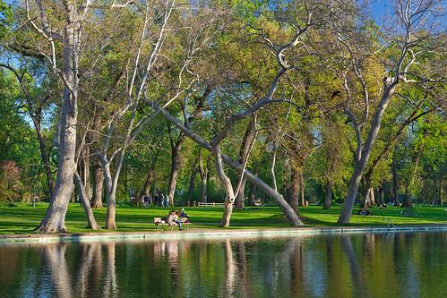 Bidwell Park Chico. One Mile, Bidwell Park, Chico,