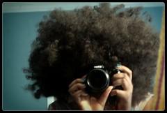 (RaeBerlin) Tags: selfportrait me blurry nikon wigs goof miranda chakakhan nikond40 tealnailpolish raeberlin