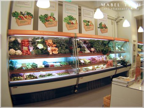 Supernature: Fresh vegetables