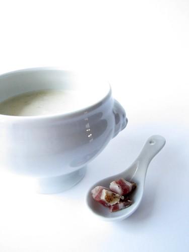 Zuppa di Gorgonzola e Bacon