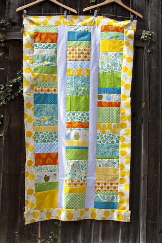 Fruitilicious Quilt Top