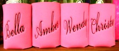elegant font (The Koozie Floozie) Tags: style can sodabeer