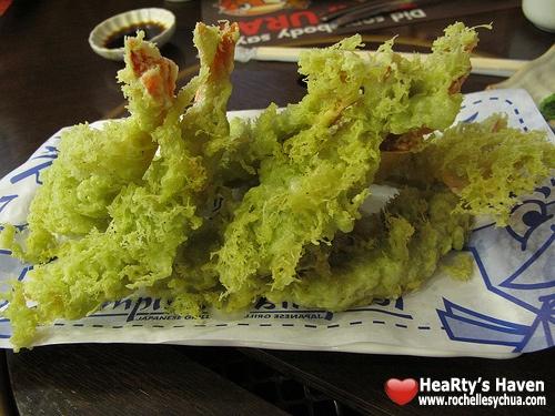 wasabi tempura