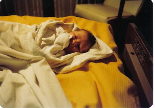 Maria Struck April 18, 1981 [just born]