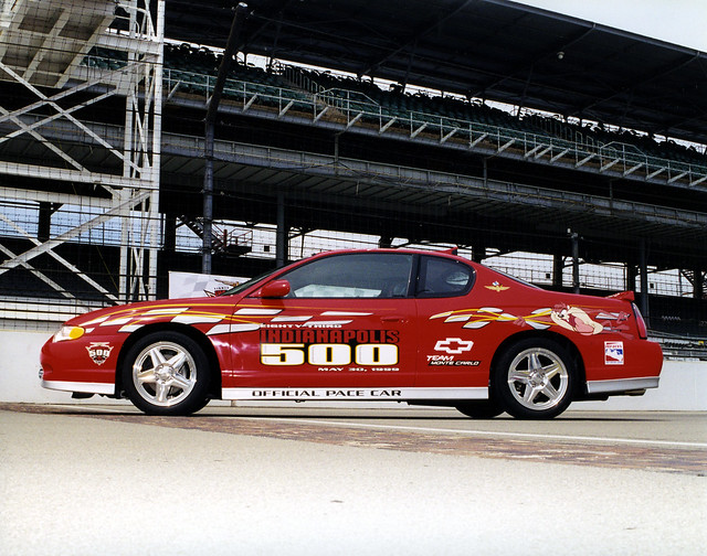chevrolet modern race speed cool technology may indiana 1999 racing jayleno carlo monte ims indy500 pacecars indianapolismotorspeedway thegreatestspectacleinracing