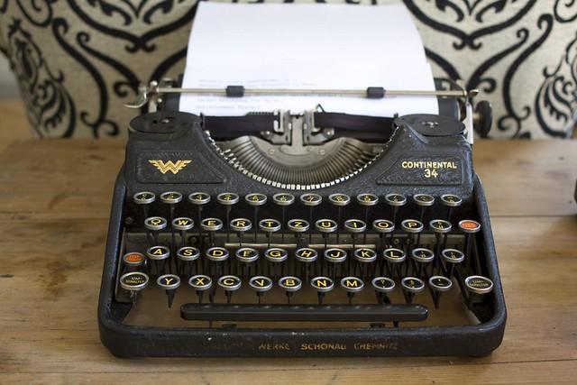 Continental-Kleinschreibmaschine (Modell 34)