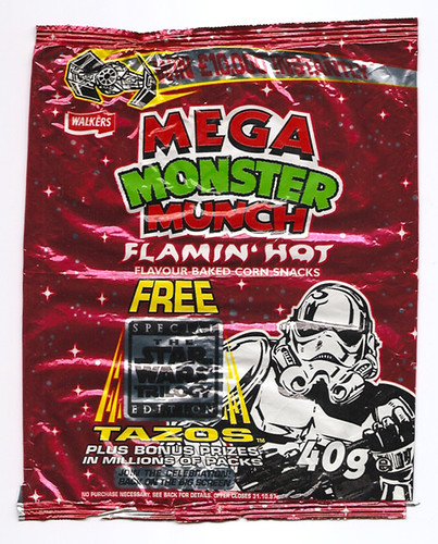 Munch Stars Hot Monster Munch Flamin' Hot