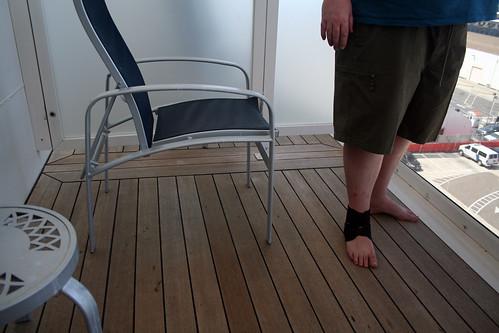 Carnival Spirit - Extended Balcony Feet