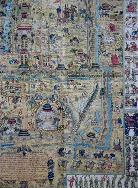 Map of Old Beijing