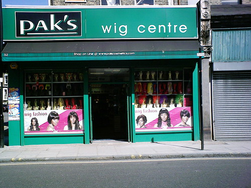 wig centre by jamies house