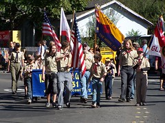 Troop 63 at the Glen Ellen fair 10-08 001