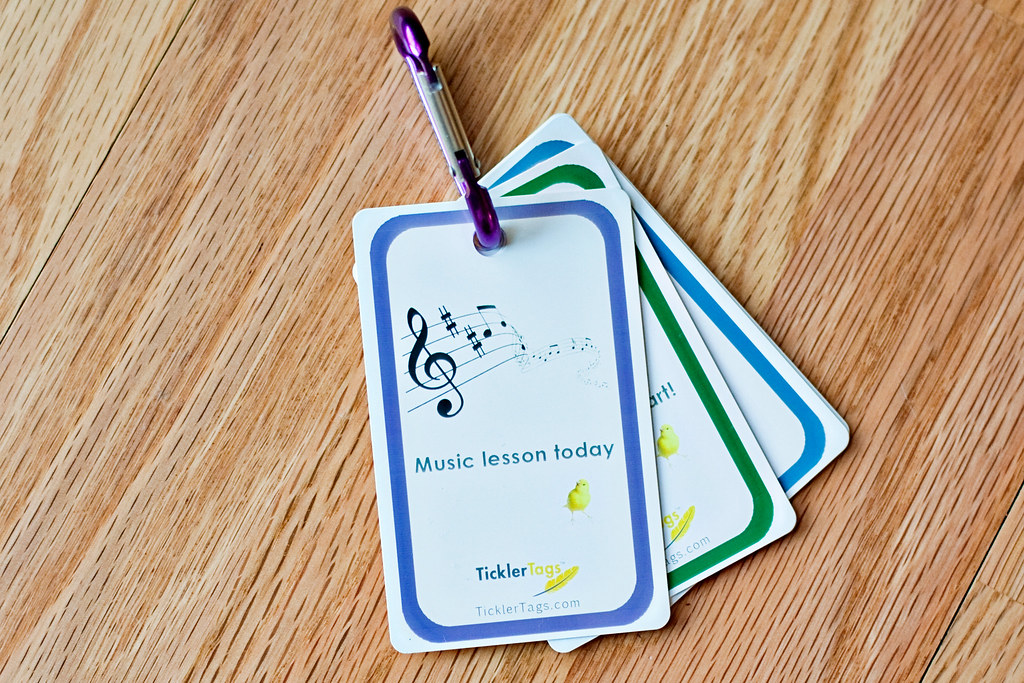 music lesson tag