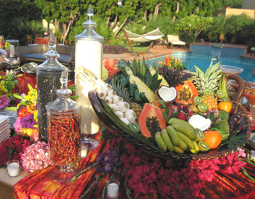 Poolside Tablescape