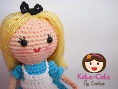 Alice in the Wonderland (Keka-Cola) Tags: toys cheshire alice crochet amigurumi wonderland coelho whiterabbit chesire keka kekacola gatorisonho paisdamaravilhas