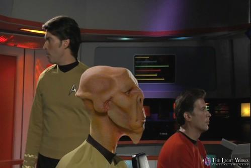 """""""Star Trek: Phase II"""" Lieutenant Arex"""