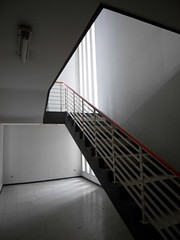 belgium / het kiel (Jrn Schiemann) Tags: architecture stairs belgium kiel antwerpen excursion escaleras vlaanderen renaat braem aeta