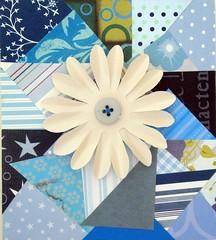 Quadro Decorativo (DricaBub-Artesanato) Tags: flores flower paper quadro papel retalho