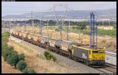 Arenero en La Gornal (javier-lopez) Tags: train tren trenes railway arena japonesa arbo renfe 269 adif ffcc arenero mercancas taoos lagornal 29062007 transfesa villafra larbo