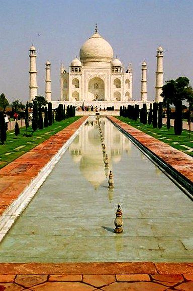 Taj Mahal reflection!