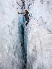 CREVASSE PLAY -- The Pacific Northwest (Light of the Wild) Tags: ice volcano glacier rainier glaciers mountaineering pacificnorthwest pnw crevasse iceclimbing mounthood mountbaker 1740l serac 5d1740l