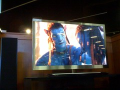 Watching Avatar Blu Ray on Samsung 9000 series. Also Incredible #TechOverloadDay