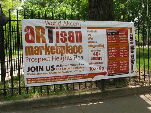 Prospect Hts Flea ; Artisan Marketplace